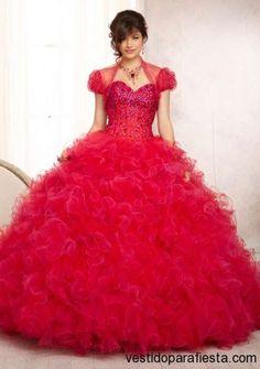 Vestidos de xv años color rojo moda 2014 http://vestidoparafiesta.com/vestidos-de-xv-anos-color-rojo-moda-2014/