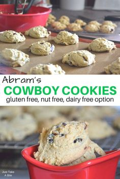 Give your little cowboy a power-packed treat with these fun, gluten free cowboy cookies. They are loaded with real, nourishing food.