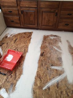 It Just Had To Go: Replacing Bathroom Carpet with Peel and Stick Tiles - Just Busy With Life
