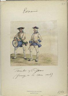 Spain, Tambor y Pifano 1760