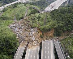 Taiwan Landslide.after 6.5