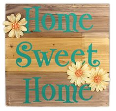 Home Sweet Home Pallet - Click through for project instructions.