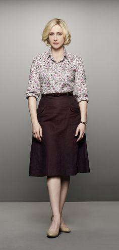 "Vera Farmiga as Norma Bates from the TV show ""Bates Motel."" Photo credit: A"