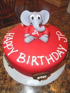 44 Alabama College Football Cakes – Roll Tide!