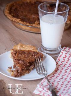 My FAVORITE pecan pie recipe!! Unexpected Elegance