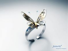 perfect butterfly ring