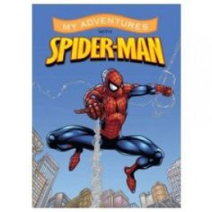 Personalized Adventure Book - Spiderman - Large $17.99