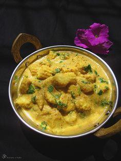 Mandlove kari s baby kukurickami Vegetarian Curry, Garam Masala, Ethnic Recipes, Baby, Food, India, Cilantro, Vegan Curry, Goa India