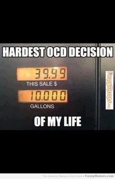 Funny memes - [Hardest OCD decision] - FunnyMemes.com