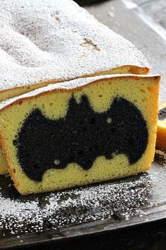 If your man loves superheroes, action movies, comics—or all three!—then he's going to geek out over this Easy Surprise Batman Cake.