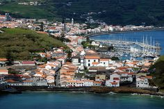 City of Horta, Faial, Ilhas dos Açores, Portugal by _Zinni_, via Flickr