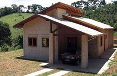 Projeto com tijolo ecologico