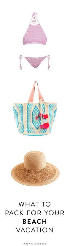 Shop: Beach Vacation Essentials