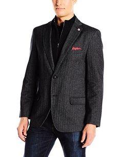 Ben Sherman Men's Slim Fit Cann Two Button Washed Cotton Herringbone Blazer W/ | Clothing, Shoes & Accessories, Men's Clothing, Blazers & Sport Coats | eBay!