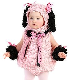 Pink Poodle Infant/Toddler Halloween Costume � Selena's Costumes