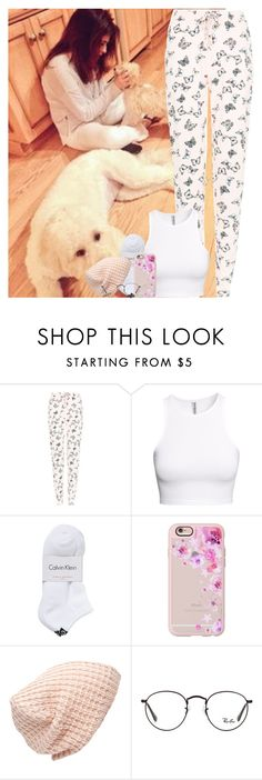 """Sans titre #641"" by faanfic-1d ❤ liked on Polyvore featuring New Look, H&M, Calvin Klein, Casetify, Forever 21 and Ray-Ban"
