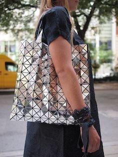 Gimme this Issey Miyake BAO BAO mirrored bag. Louis Vuitton Artsy Mm 0da3ba5a930ad
