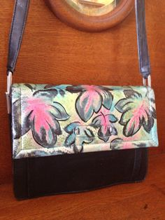 Hand painted bag- Wine Country