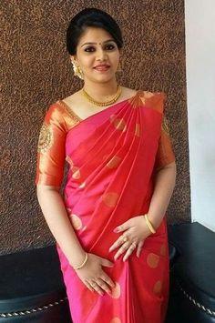 Kanjipuram Saree, Saree Dress, Saree Blouse, Indian Silk Sarees, Indian Beauty Saree, Christian Bridal Saree, Engagement Saree, Wedding Saree Collection, Bridal Silk Saree
