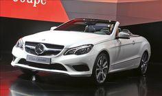 Top convertibles for 2013-Mercedes E-Class Cabriolet