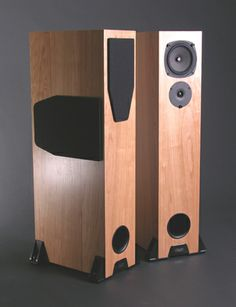 Rega RS5 Speakers , on display at Stereo Passion International
