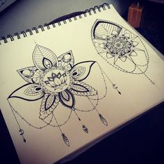 Fresh WTFDotworkTattoo Find Fresh from the Web Both on one flash sheet. Available to tattoo! Matching Tattoos, Day Of The Dead, Dots, Mandala Tattoo, Beads, Drawing Ideas, Skulls, Pattern, Fresh