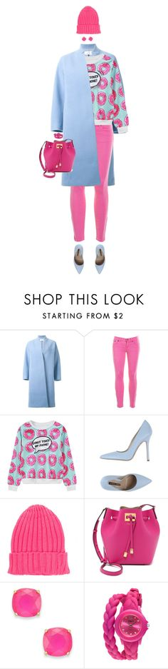 """""""Donut Print! Doh!"""" by ittie-kittie ❤ liked on Polyvore featuring Le Ciel Bleu, J.Crew, WithChic, Norma J.Baker, Michael Kors, Kate Spade, TKO Orlogi, women's clothing, women's fashion and women"""
