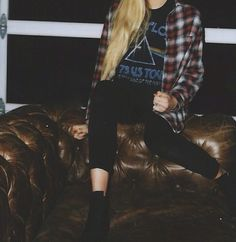Plaid hipster styles