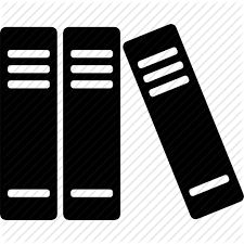 library icon black and white - Google Search