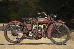 Unrestored 'survivor' with rare 72ci engine,1921 Indian Powerplus V-Twin