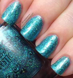 ThatGalJenna: Mystic Muse Nail Lacquer Review and Swatches - Winter Solstice Collection - Arctic Ivy