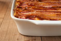 BREAKFAST LASAGNA USES PANCAKES FOR NOODLES  Everything delicious from breakfast is in there.