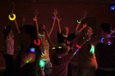 Glow Necklaces for Glow Zumba! https://glowproducts.com/us/22inchassortedeconomy #glowyoga