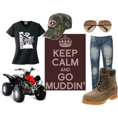 """Go muddin"" by country-girls-world on Polyvore"