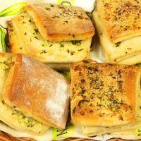 layered Garlic Bread