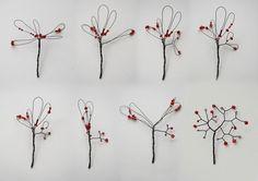 THE PLEASURE OF TINY THINGS miniature tree tutorial
