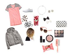 """""""Cute and Comfy"""" by rla099274 ❤ liked on Polyvore featuring H&M, Converse and Forever 21"""