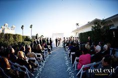 """Nothing but blue! Say """"I do"""" by the ocean with an outdoor ceremony at Shutters on the Beach. #wedding"""