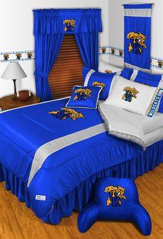"""Bedspread 63/"""" x 86/"""" Kentucky Wildcats Throw Blanket"""