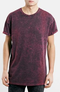Topman Acid Washed T-Shirt at Nordstrom.com. A retro acid wash furthers the vintage appearance of a slouchy, oversized crewneck T-shirt. $25.00