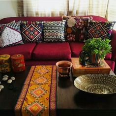After Red Sofa Living Room Ideas athomebyte . - vicente cash 020 - After Red Sofa Living Room Ideas athomebyte . After Red Sofa Living Room Ideas athomebyte Red Couch Living Room, Home Living Room, Red Living Room Decor, Red Living Rooms, Red Rooms, Ethnic Home Decor, Indian Home Decor, Room Wall Colors, Indian Living Rooms