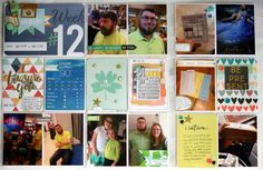 Project Life 2015 Week 12, plus an exciting announcement!