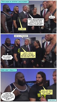 WWE Nativity, pt 1: There's something about Mary.. credit JenJ@forever_ambrose