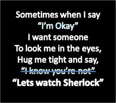 A Sherlockian in need is a friend indeed.