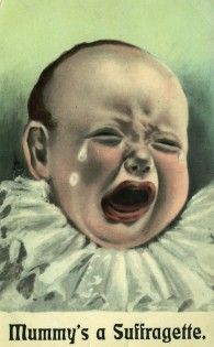 Anti-Suffrage Postcards c. 1910