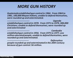 GUN CONTROL. Yes it sure works don't it? You just better make sure your on the right side!