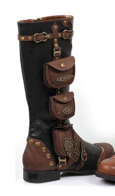 Steampunk shoes - Pesquisa Google