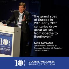 #GWS2016 David Clay Large on the grand spas of Europe