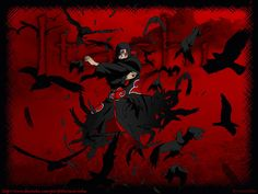 itachi uchiha crows - Google Search