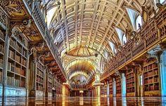 Biblioteca do Convento de Mafra - Portugal